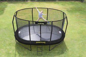 Jumpking Tappeto elastico ovale